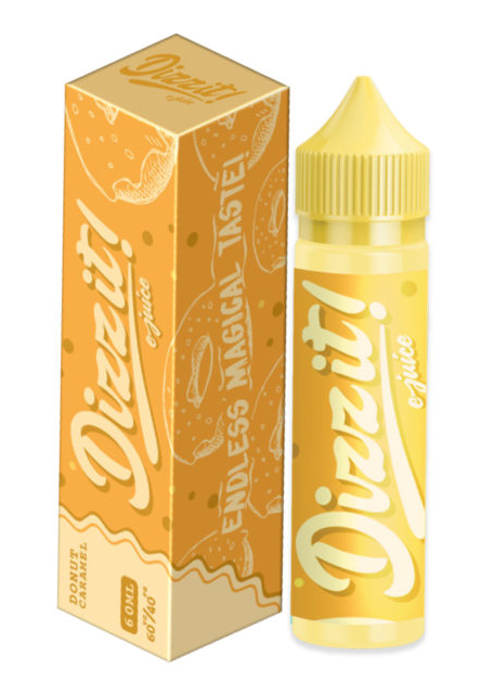 Caramel Donut by Dizzit E-Juice (60ml)