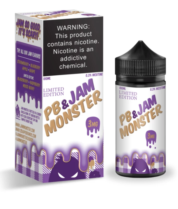 Grape by PB & Jam Monster (100ml)