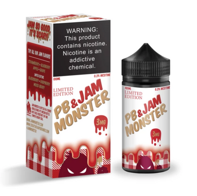 Strawberry by PB & Jam Monster (100ml)