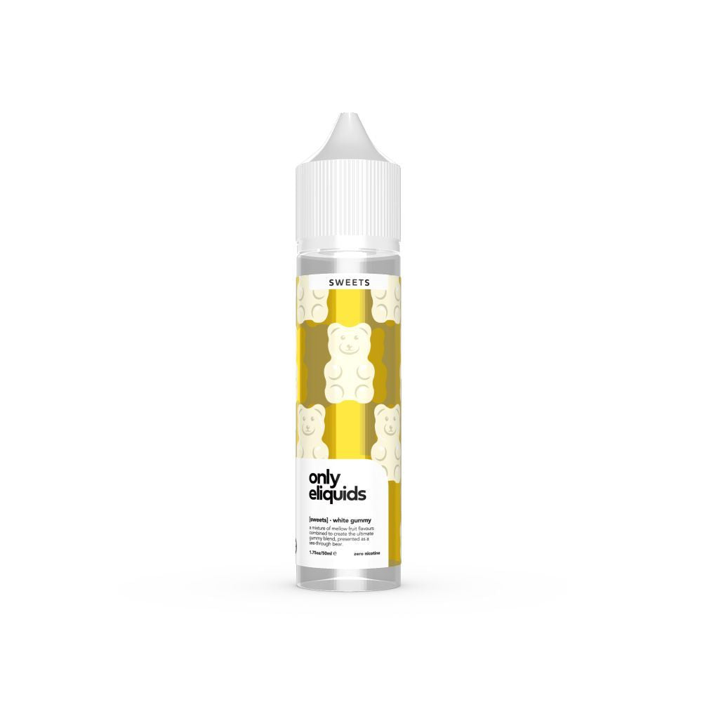 White Gummy by Only Sweets (60ml)