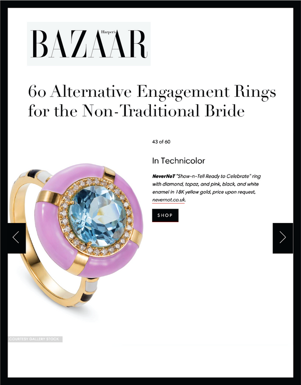 60 Alternative Engagement Rings for the Non-Traditional Bride