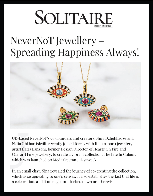 NeverNoT Jewellery – Spreading Happiness Always!