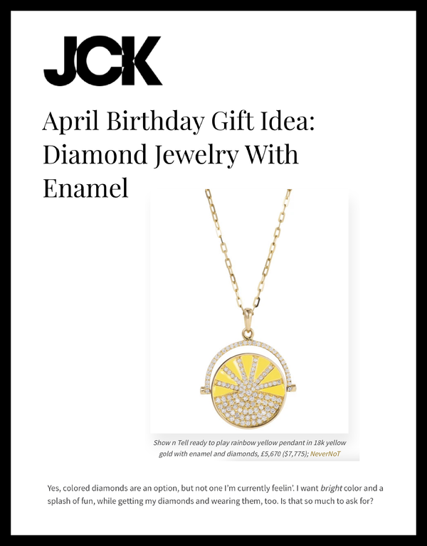 April Birthday Gift Idea