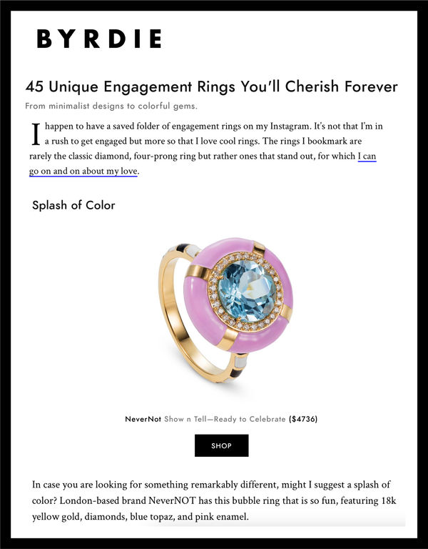 45 Unique Engagement Rings You'll Cherish Forever