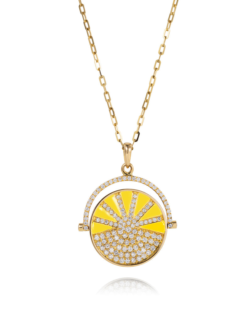'Show n Tell' yellow pendant