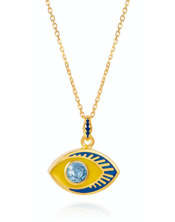 'Life in Colour' - Eye Pendant