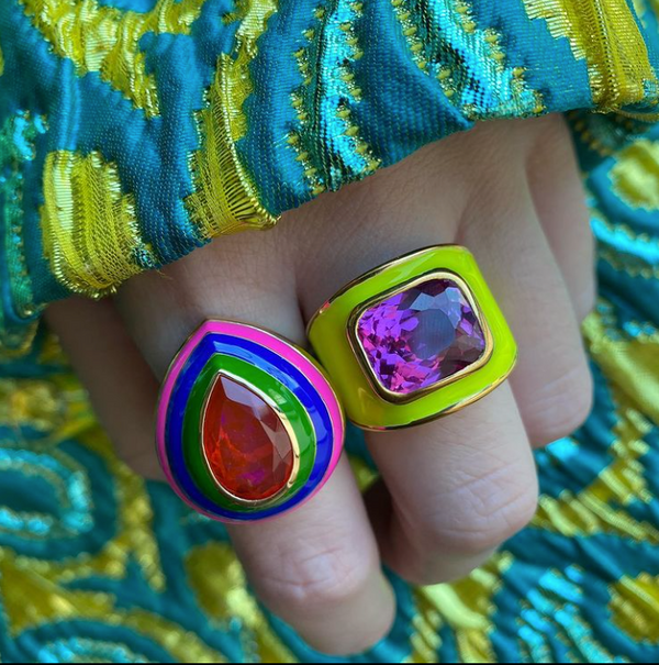 'Grab n Go' Cocktail Ring