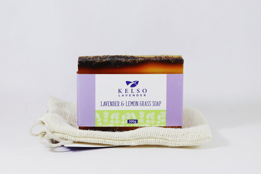 Lemongrass + Lavender Face/Body Soap (Giftable)