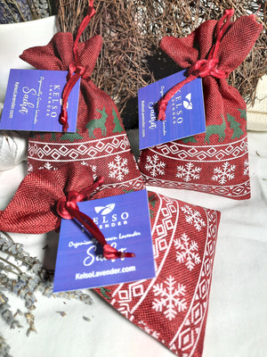 Holiday Season Winter Sachet Bags