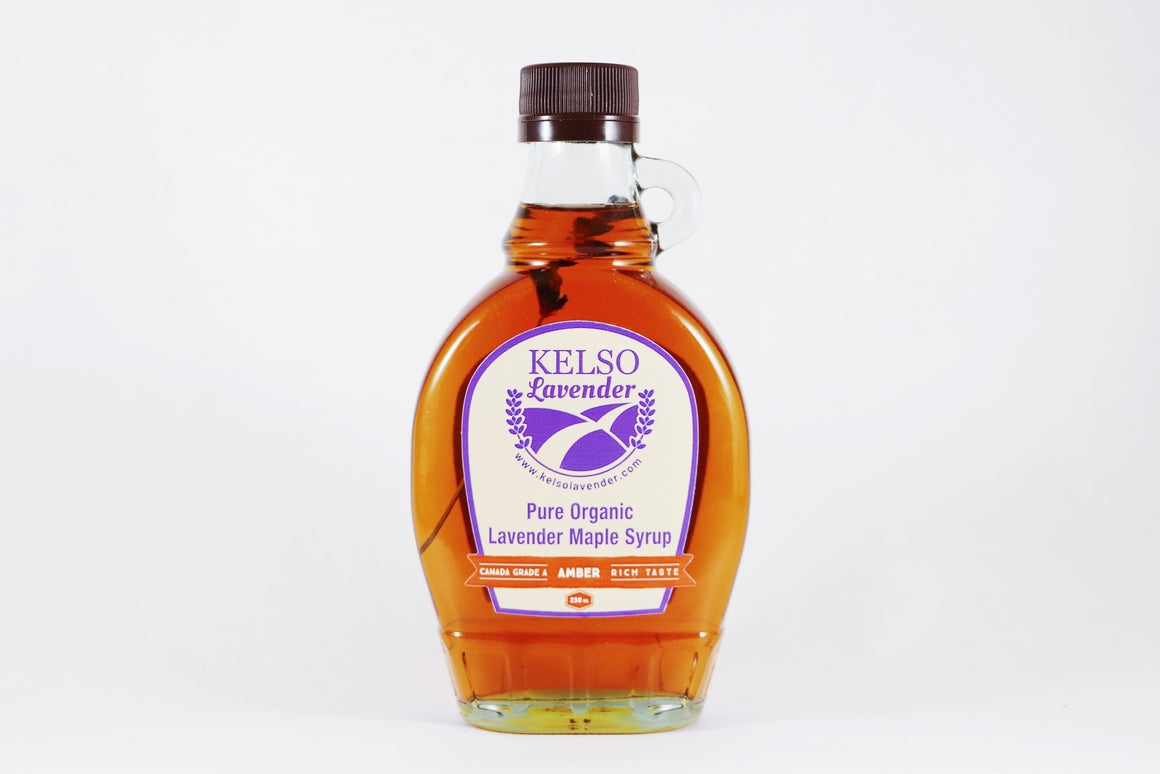 Lavender Maple Syrup