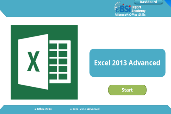 Excel 2013 Advanced