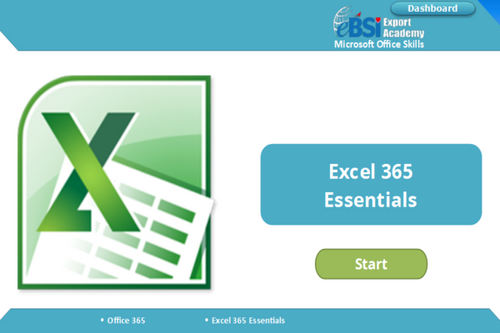 Excel 365 Essentials