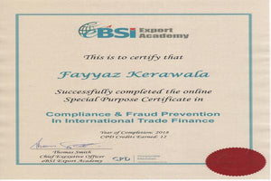 Compliance & Fraud Prevention in Trade Finance