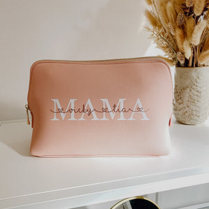 "Beauty Bag groß ""MAMA MIT NAMEN"" (personalisiert)"