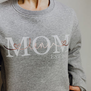 Sweater MOM EST (personalisiert)