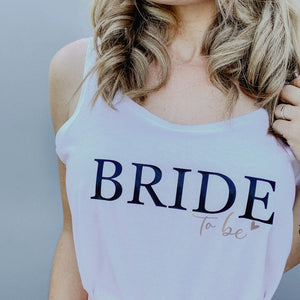Damen Top BRIDE TO BE (individuell)
