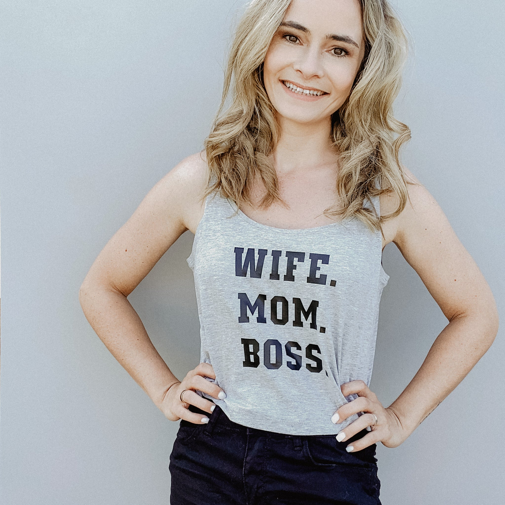 Damen Top WIFE MOM BOSS (individuell)