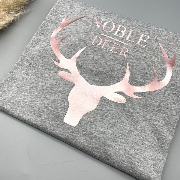 Damen T-Shirt leger NOBLEDEER GROSS