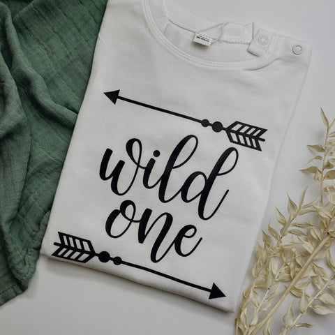 Baby-Shirt WILD ONE (individuell)
