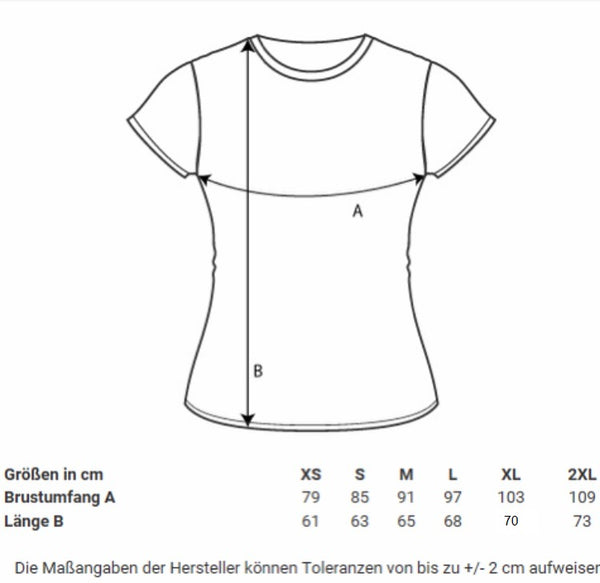 Damen T-Shirt regulär ADVENTURE