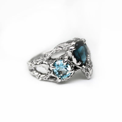 Blue Dreamsnake Ring
