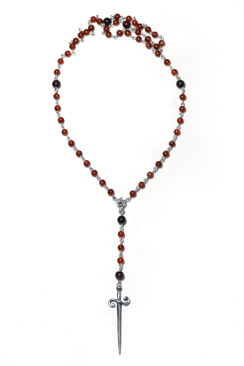 Carnelian Witch's Rosary