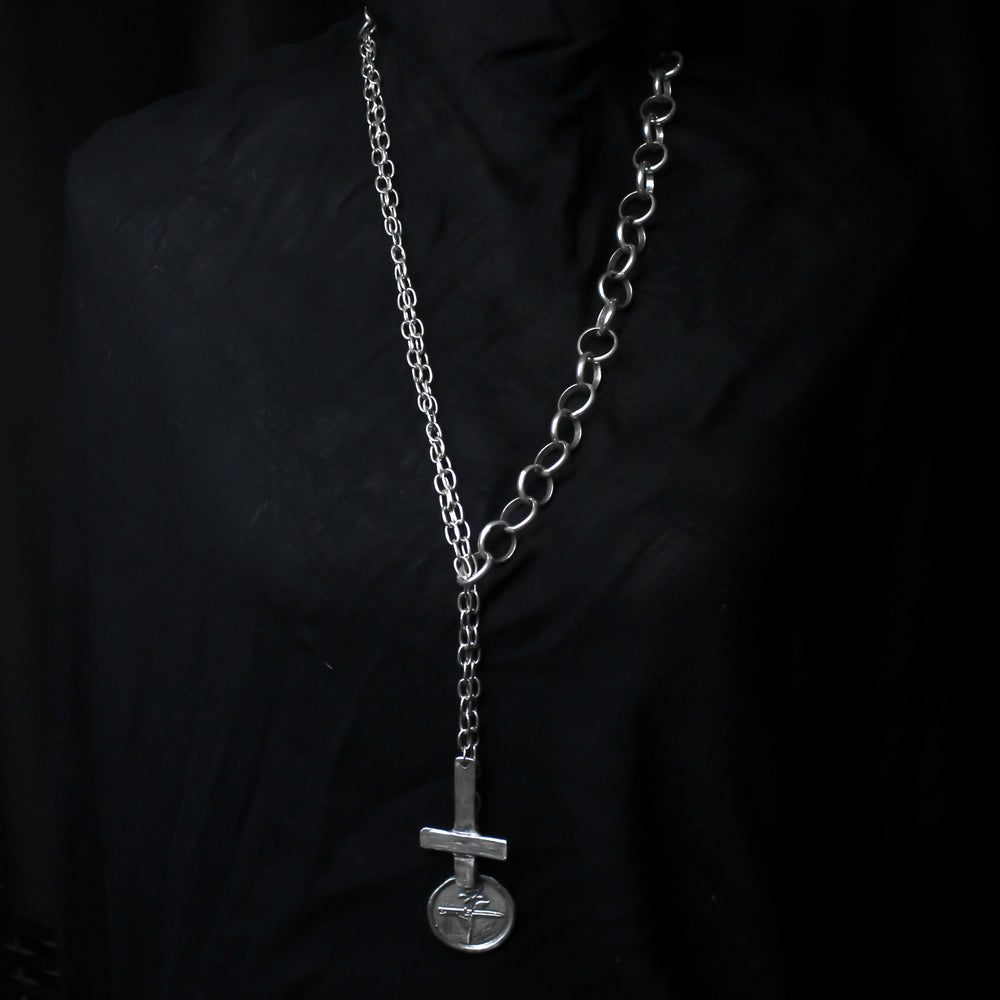 The Rose, Dagger and Cross Necklace