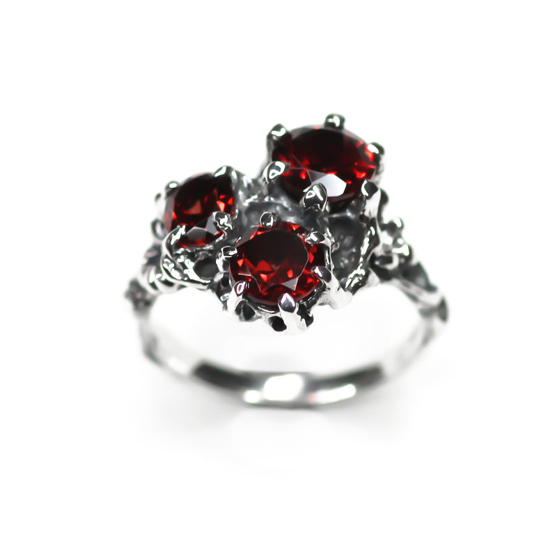 Red Trinity Ring - sample