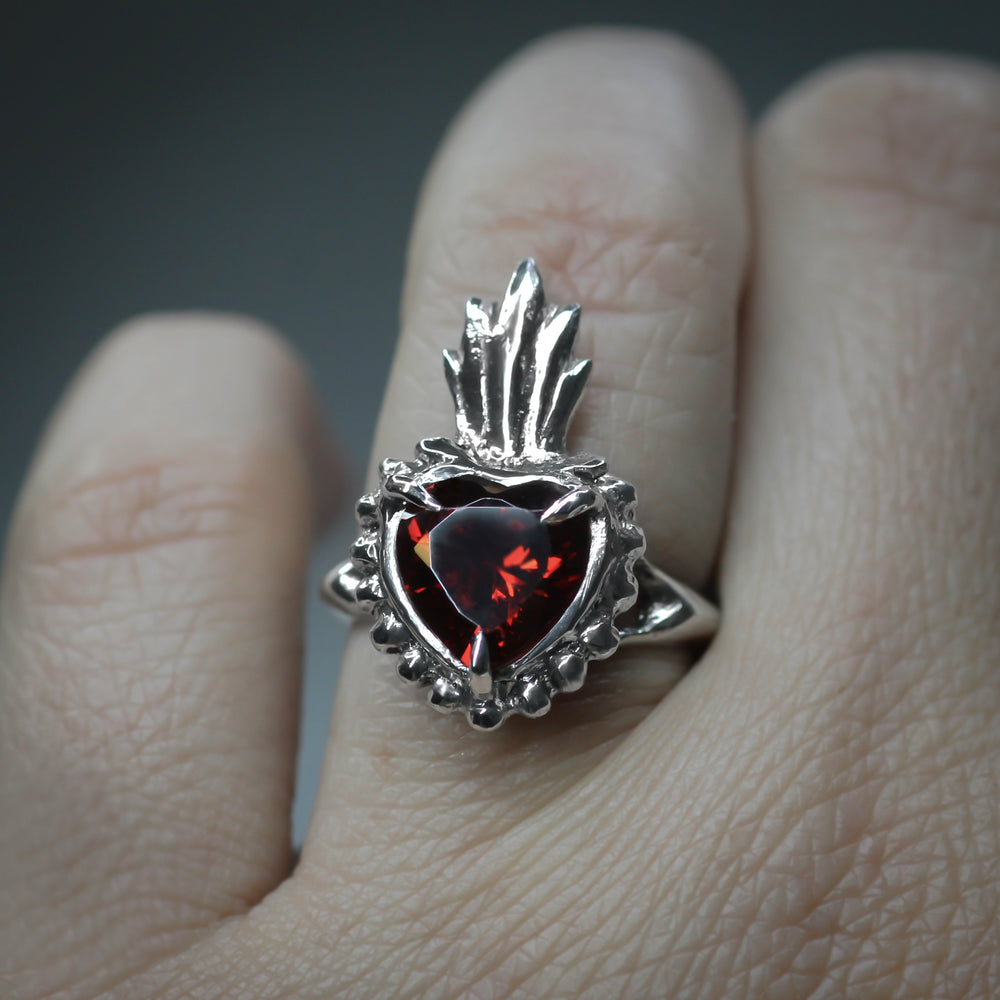 The Sacred Heart Ring