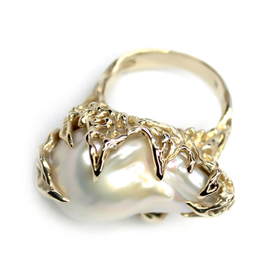 The Baroque Pearl Ring