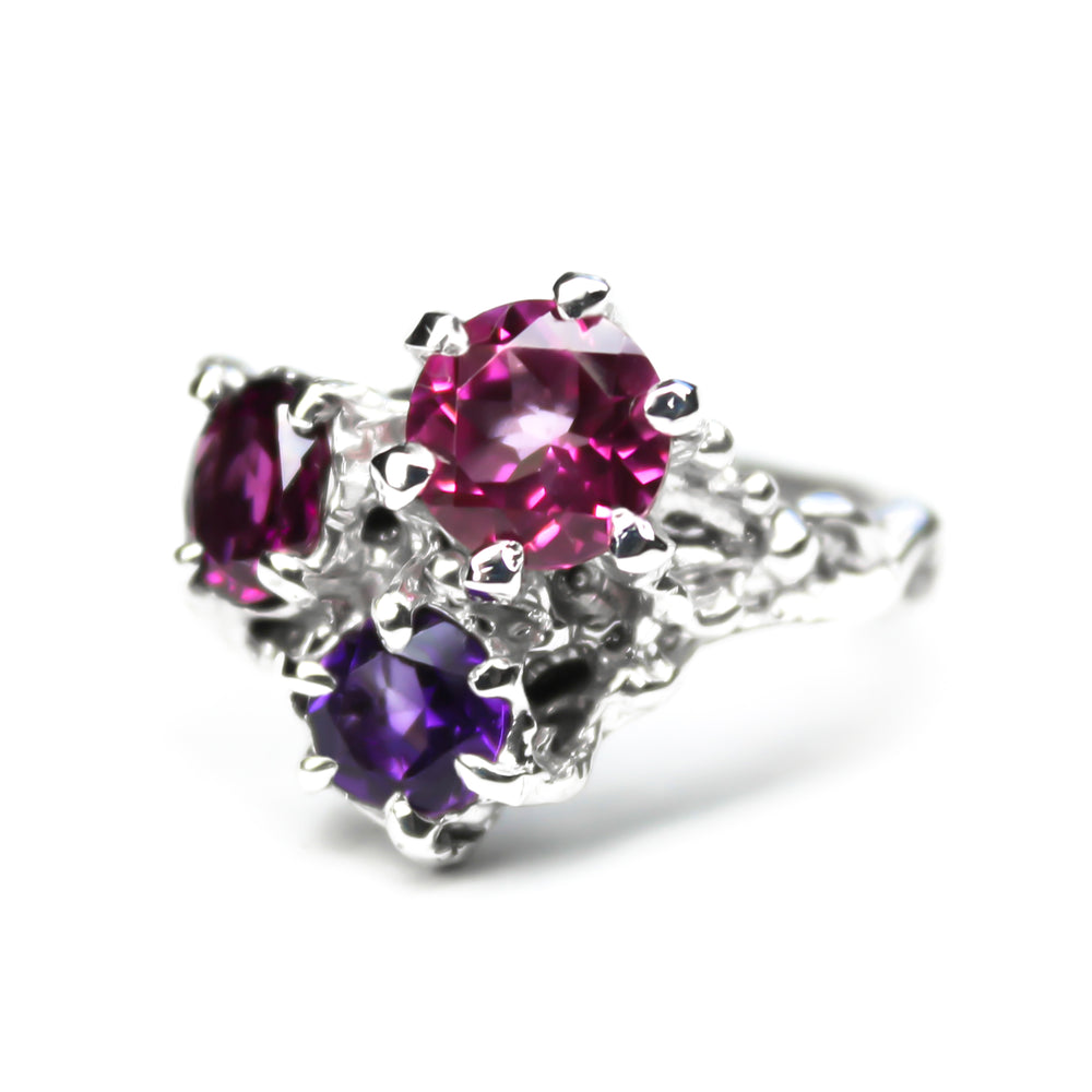 Pink Trinity Ring