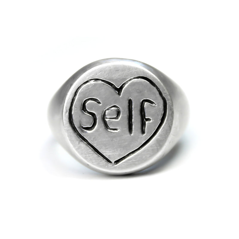 Self Love Signet Ring