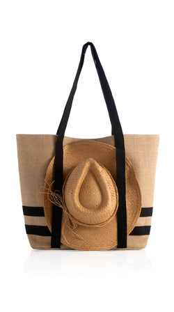 Sunny Beach Tote With Hat