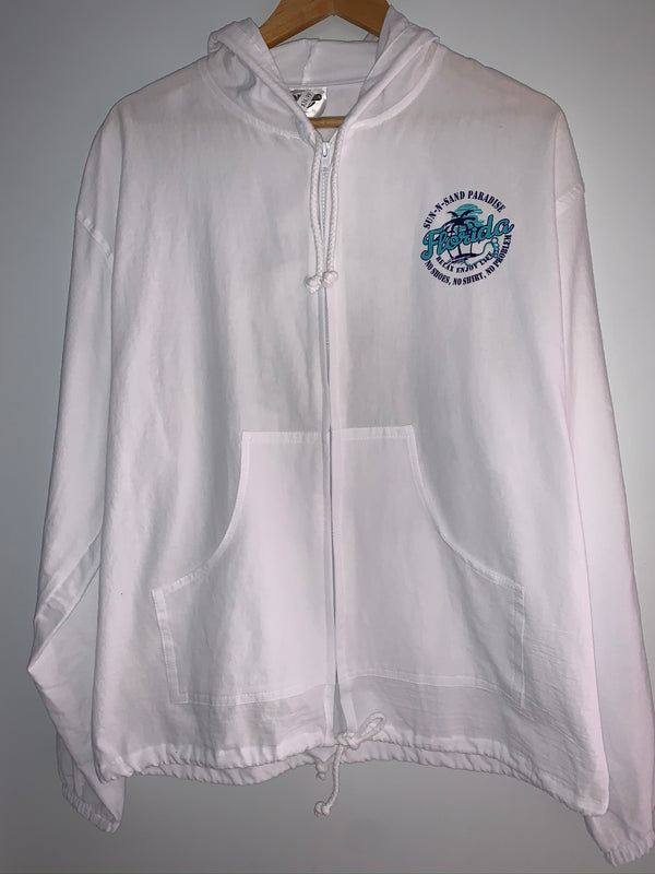 Cottonseed Zip Up Jacket Sun-N-Sand Florida