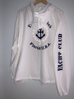 Cottonsead Zip Up Jacket Yacht Club