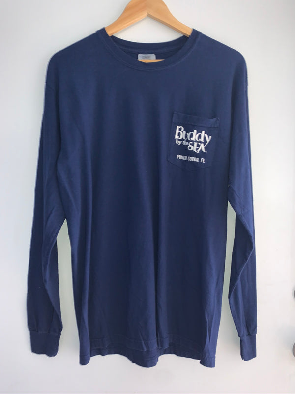 Longsleeve Buddy By The Sea Wave Buddy