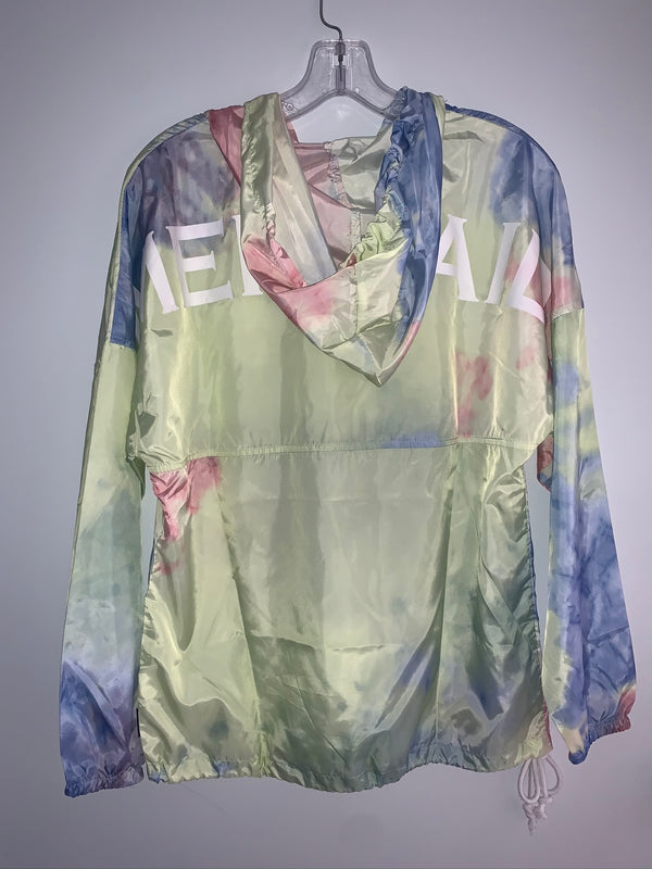 Mermaid Tye-Dye Windbreaker