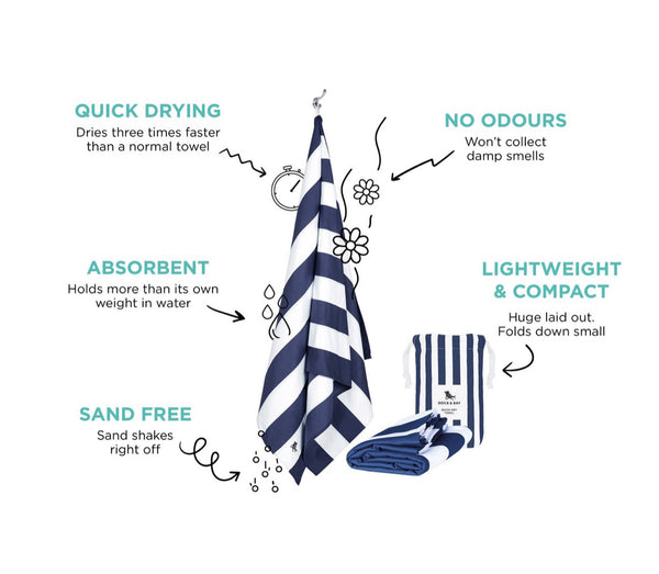 Quick Dry Sand Free Beach Towel