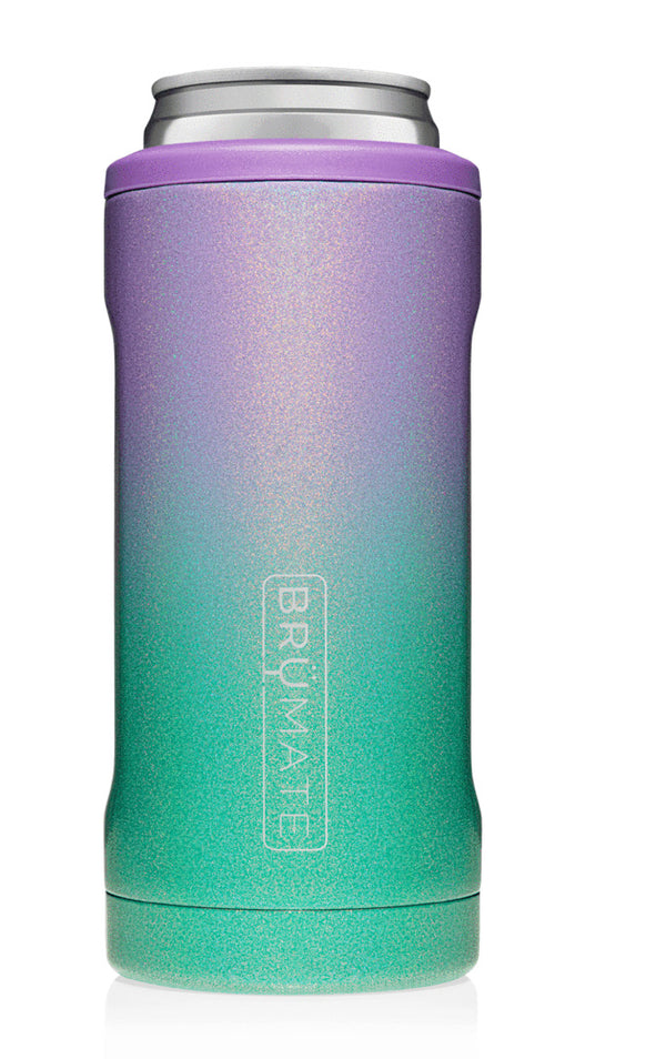Brumate Hopsulator Slim - Glitter Mermaid