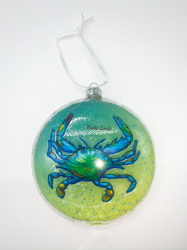 Punta Gorda Crab Ornament