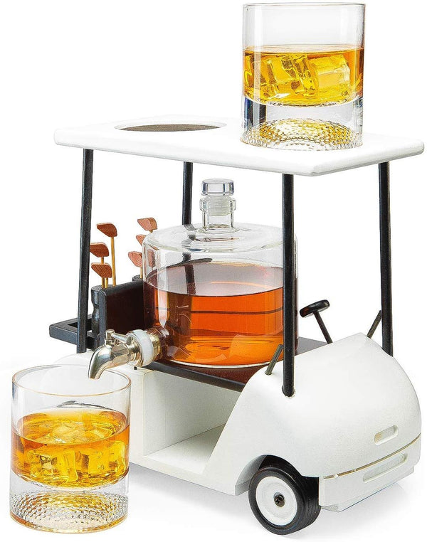 Golf Cart Decanter
