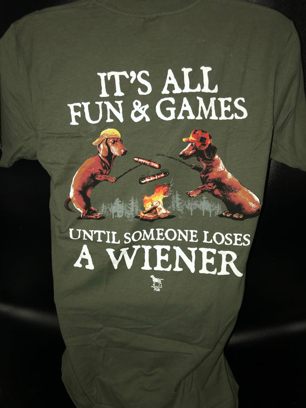 Fun and Games Until Someone Loses A Wiener