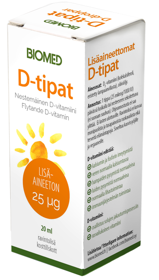 Biomed D-tipat 25 mcg