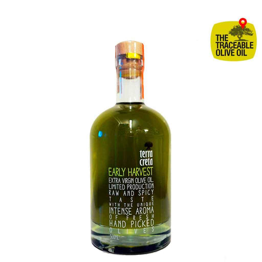 Terra Creta Early Harvest Extra Neitsytoliiviöljy 500 ml