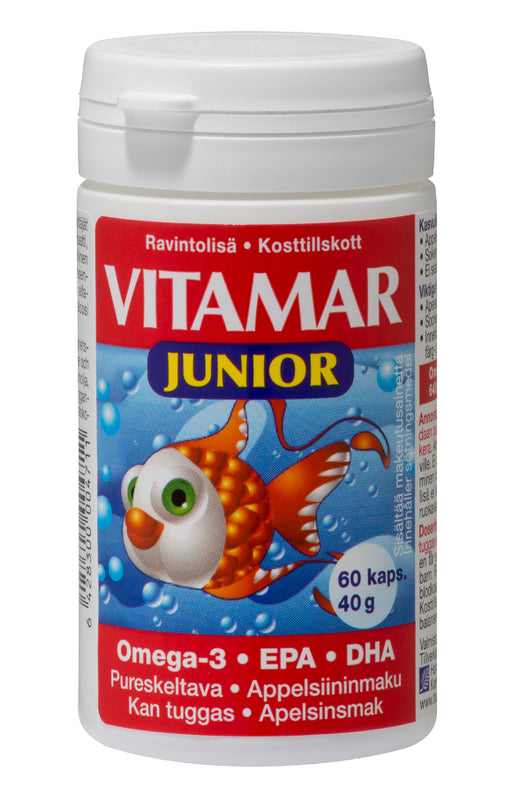 Vitamar Junior kalaöljy