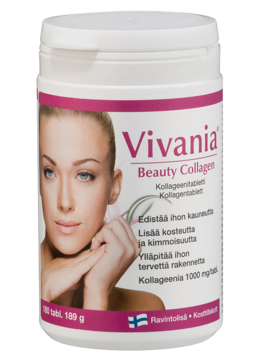Vivania Beauty Collagen - Kollageenitabletti