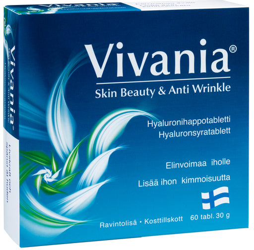 Vivania Skin Beauty & Anti Wrinkle - Hyaluronihappotabletti