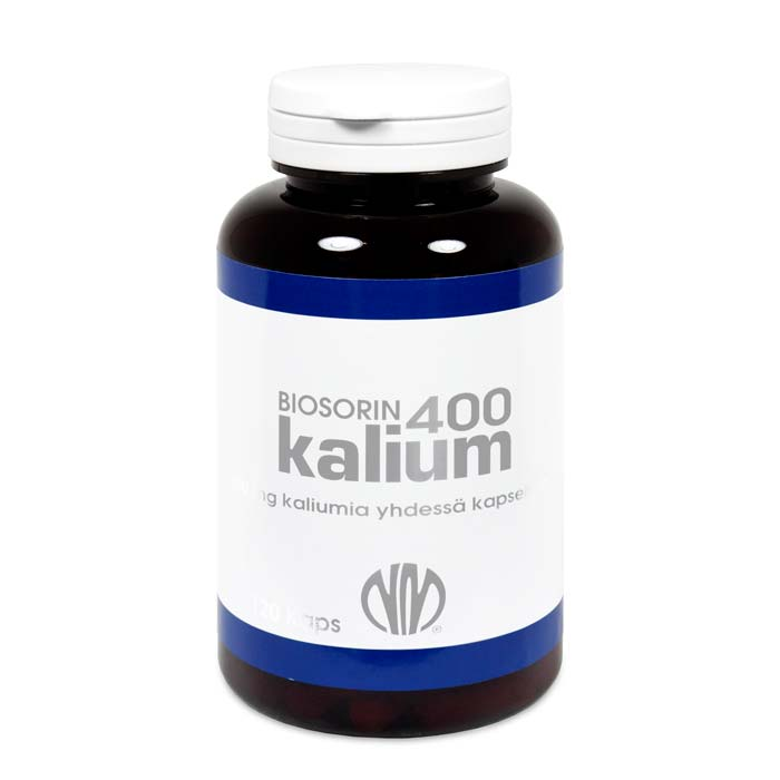 Natura Media vahva kalium 400 mg