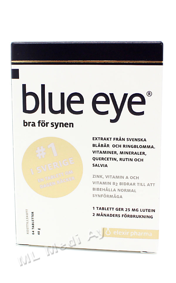BLUE EYE 64 tabl.