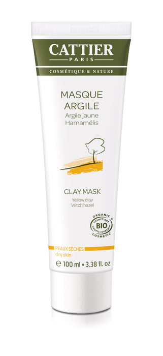 Cattier Paris Clay Mask Yellow Clay - savinaamio